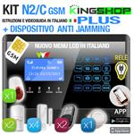 ANTIFURTO GSM WIRELESS N2C PLUS BLACK EDITION