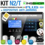 ANTIFURTO GSM WIRELESS N2T PLUS