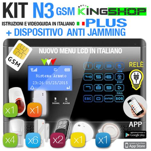 ANTIFURTO GSM WIRELESS N3 PLUS