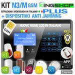 ANTIFURTO GSM WIRELESS N3M PLUS