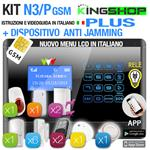 ANTIFURTO GSM WIRELESS N3P PLUS