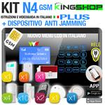 ANTIFURTO GSM WIRELESS N4 PLUS