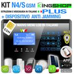 ANTIFURTO GSM WIRELESS N4S PLUS