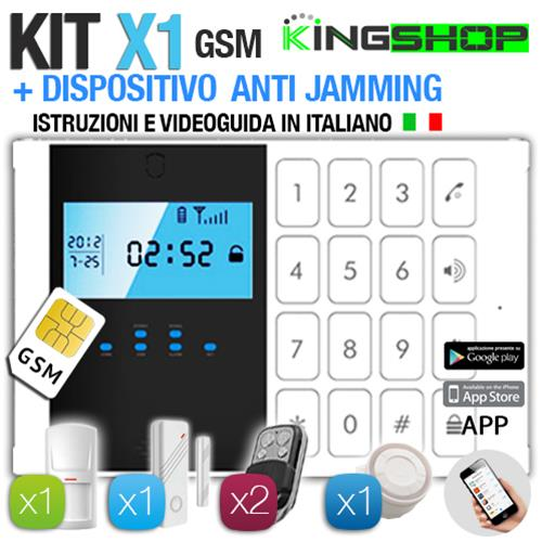 ANTIFURTO GSM WIRELESS X1