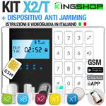 ANTIFURTO GSM WIRELESS X2/T