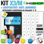 ANTIFURTO GSM WIRELESS X3/M