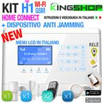 ANTIFURTO WI-FI GSM WIRELESS H1 HOME CONNECT