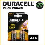 DURACELL PLUS POWER DURALOCK ALCALINE MINISTILO AAA - BLISTER 4 BATTERIE