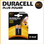 DURACELL PLUS POWER ALCALINE TRANSISTOR 9V - BLISTER 1 BATTERIA