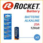 ROCKET BATTERIE 23A 12V - BOX 5 BATTERIE